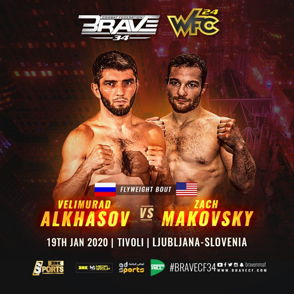Zach Makovsky heads to Brave Combat Federation, faces Velimurad Alkhasov