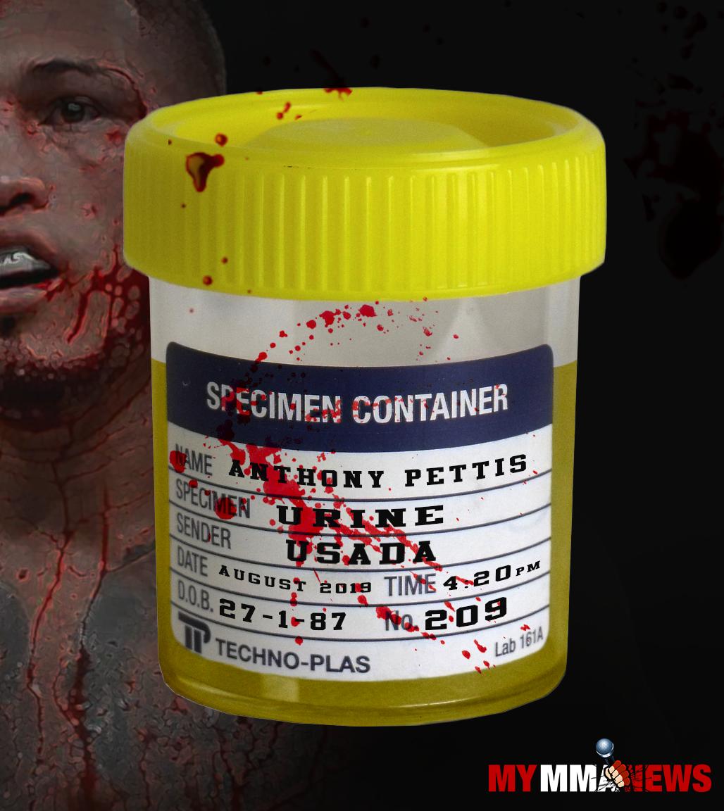 Anthony Pettis, urinalysis, USADA, UFC 246