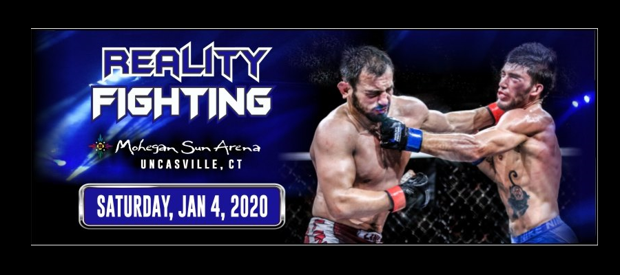 Reality Fighting MMA and BJJ card finalized for January 4 in Connecticut