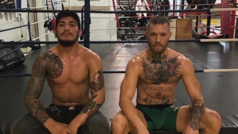 Dillon Danis may not be able to corner Conor McGregor at UFC 246