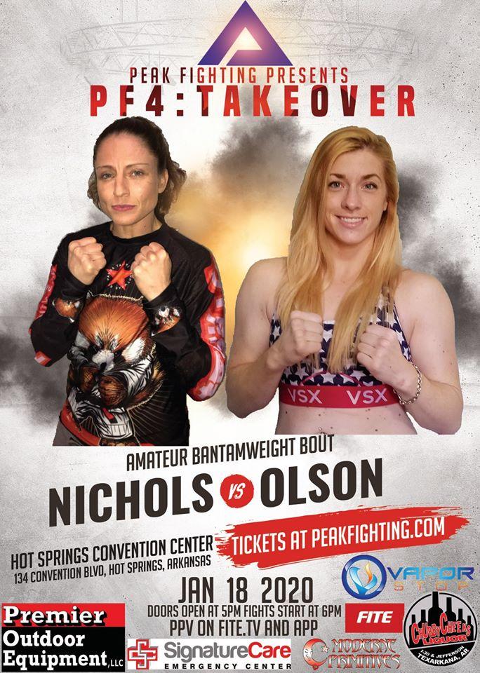 Hanna Olson, Peak Fighting 4