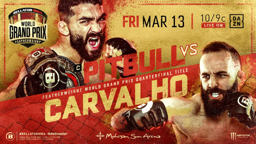 Bellator Brings Featherweight World Grand Prix to Mohegan Sun Arena on March 13
