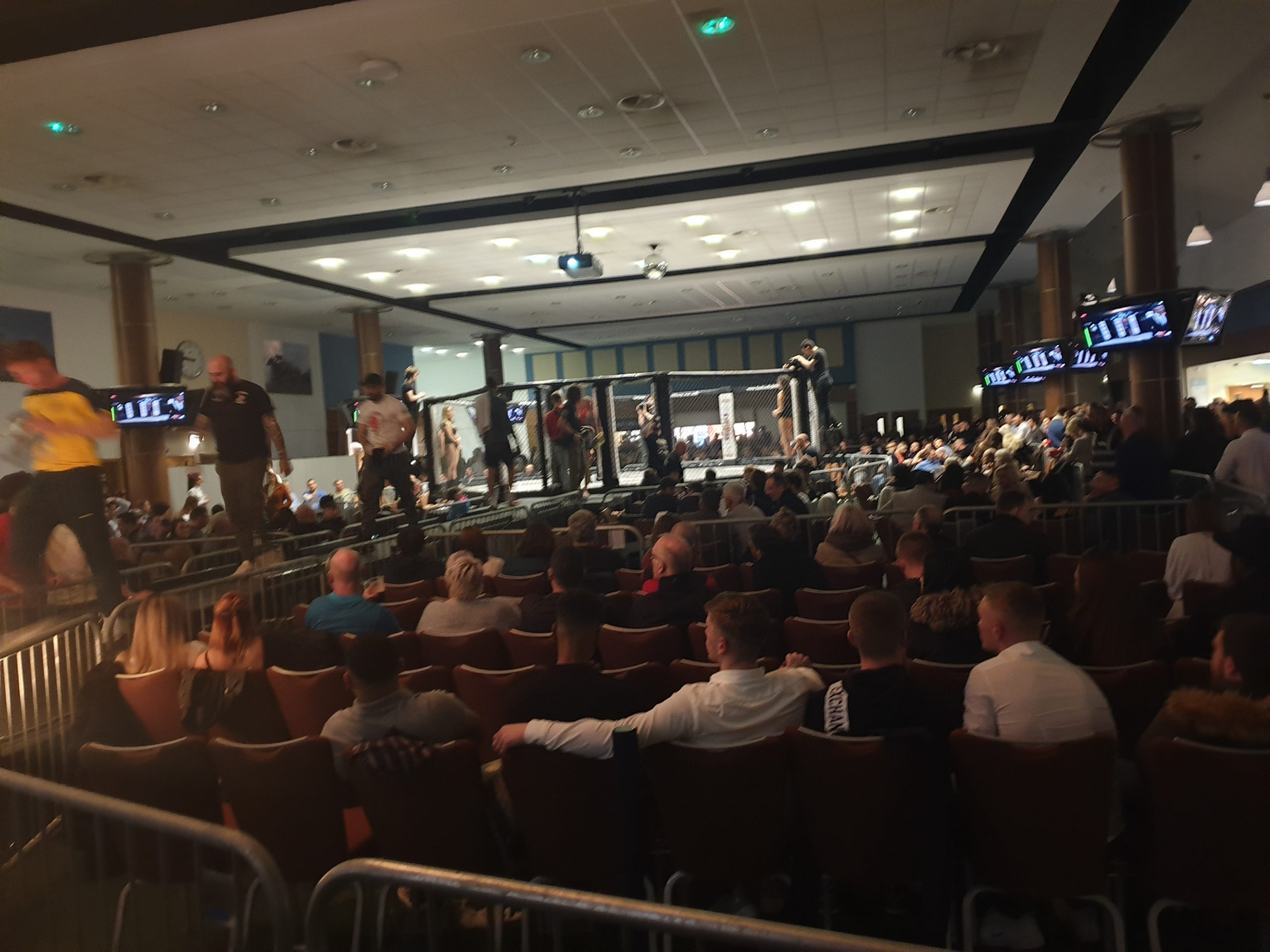 Fusion Fighting Championship 32 at Epsom Downs Racecourse