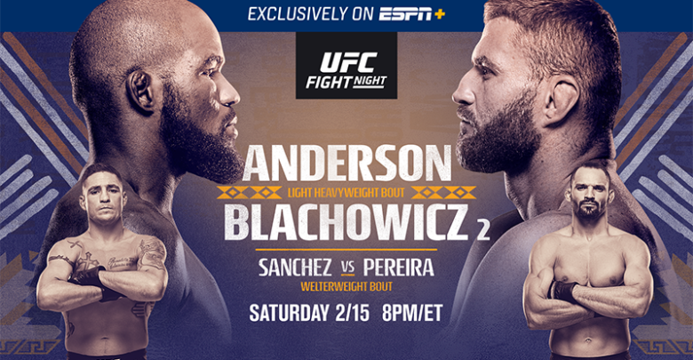 UFC Rio Rancho weigh-in results - Anderson vs. Blachowicz 2