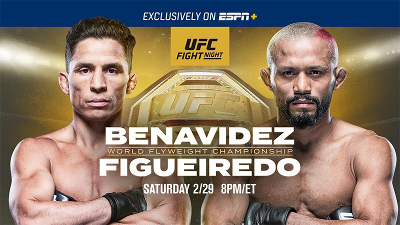 UFC Norfolk results - Benavidez vs. Figueiredo