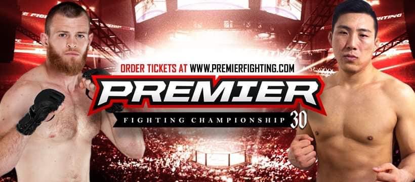 Premier FC 30: Yu Ji vs Pat Casey - PPV Live Stream