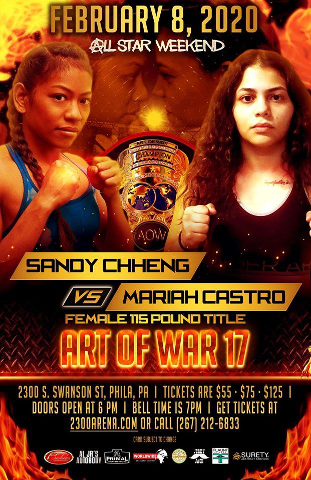 Mariah Castro, AOW 17, Art of War 17