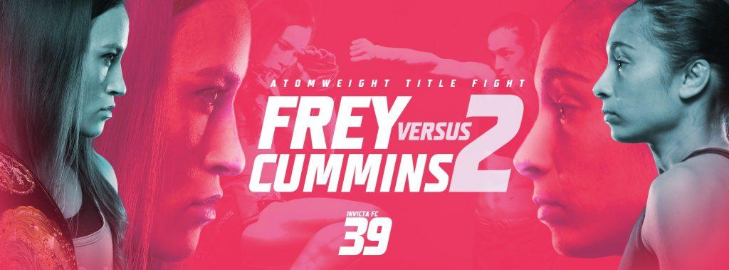 Invicta FC 39 results - Jinh Yu Frey vs. Ashley Cummins 2