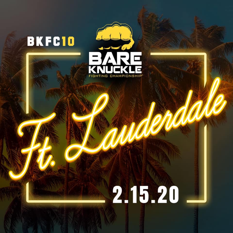 BKFC 10 weigh-in video and results - LIVE Stream - Lombard vs. Mundell