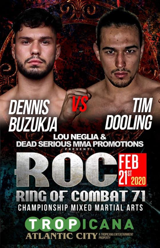 Tim Dooling, ROC 71