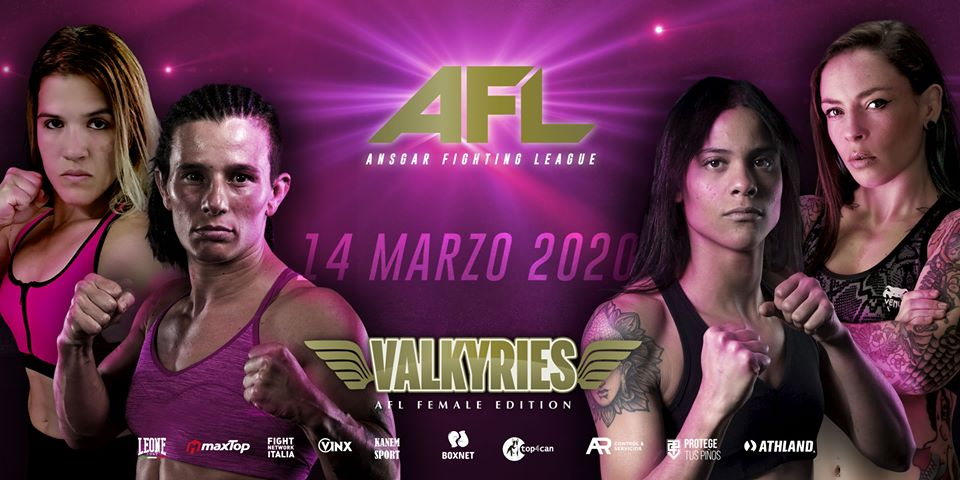 AFL Valkyries: All-Female MMA Event