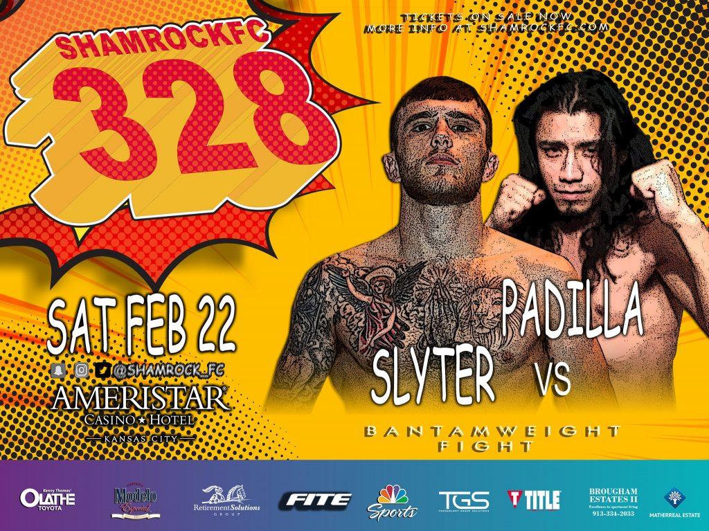 Shamrock FC 328 - Mark Slyter vs Paris Padilla