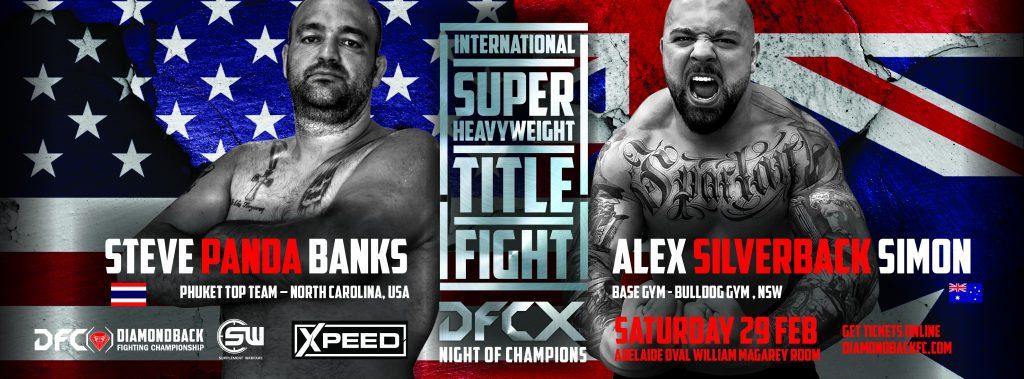 Diamondback Fighting Championship 10: Banks vs Simon
