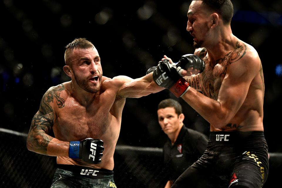UFC 251 rematch, Volvanovski, Holloway, UFC 245