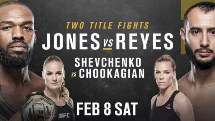 UFC 247 results - Jones vs. Reyes, Shevchenko vs. Chookagian