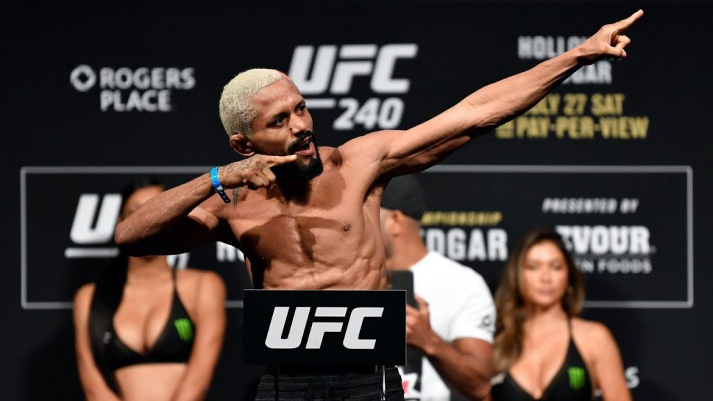 UFC Norfolk weigh-in results and video: Benavidez vs. Figueiredo