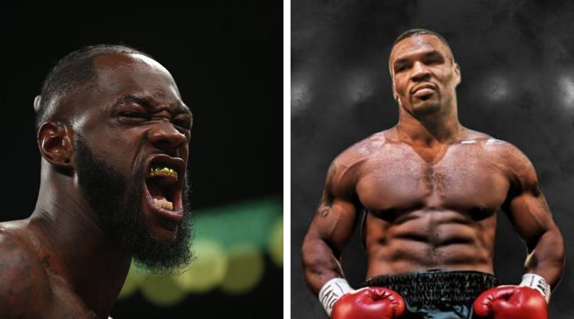 Mike Tyson vs Deontay Wilder
