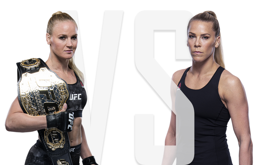 Valentina Shevchenko and Katlyn Chookagian