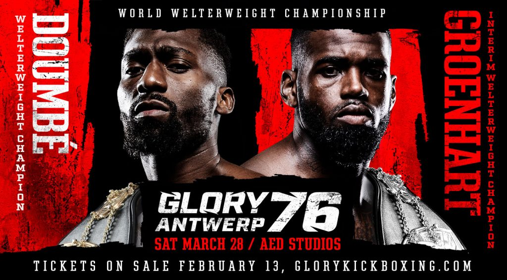 Cédric Doumbé faces 'The Predator' for undisputed welterweight championship at GLORY 76