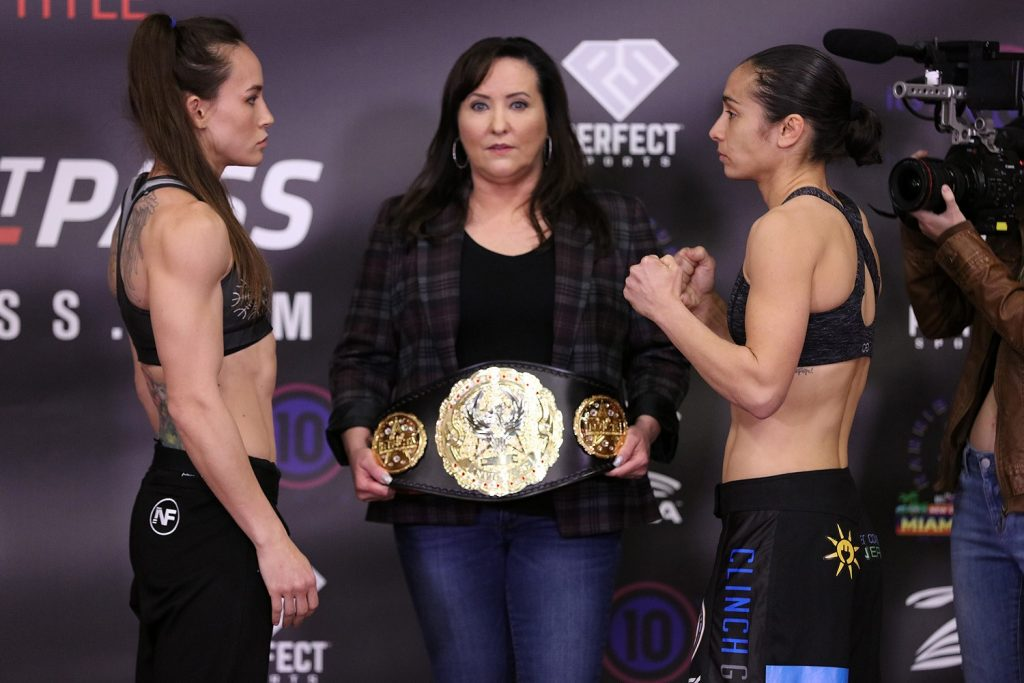 Jinh Yu Frey stripped of atomweight title for failure to make weight for Invicta FC 39 headliner