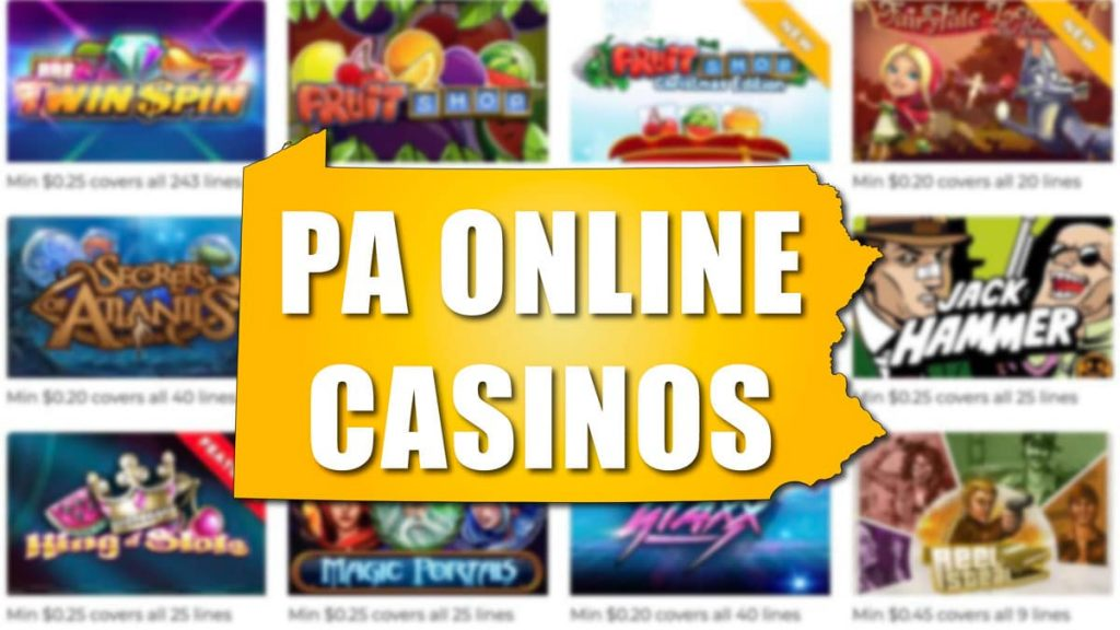 Pennsylvania now open for online casino