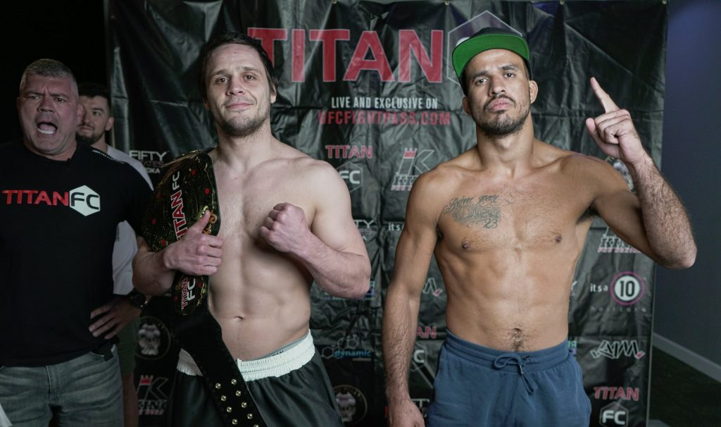 Titan FC 59 results - Graves vs. Villefort for welterweight title