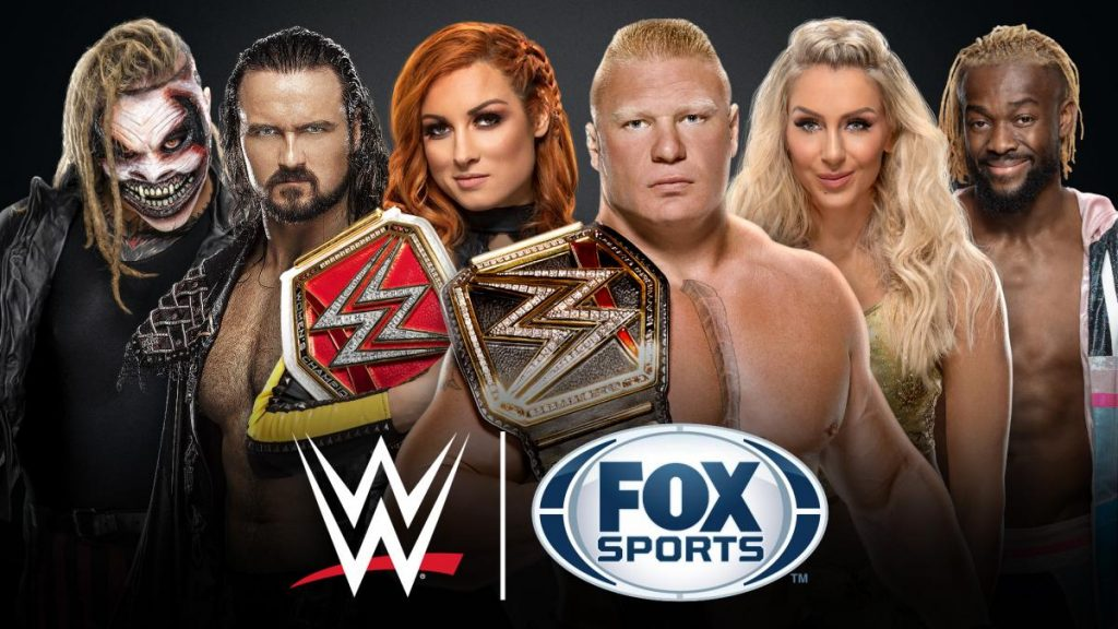 WWE and FOX Sports team up for massive slate of programming