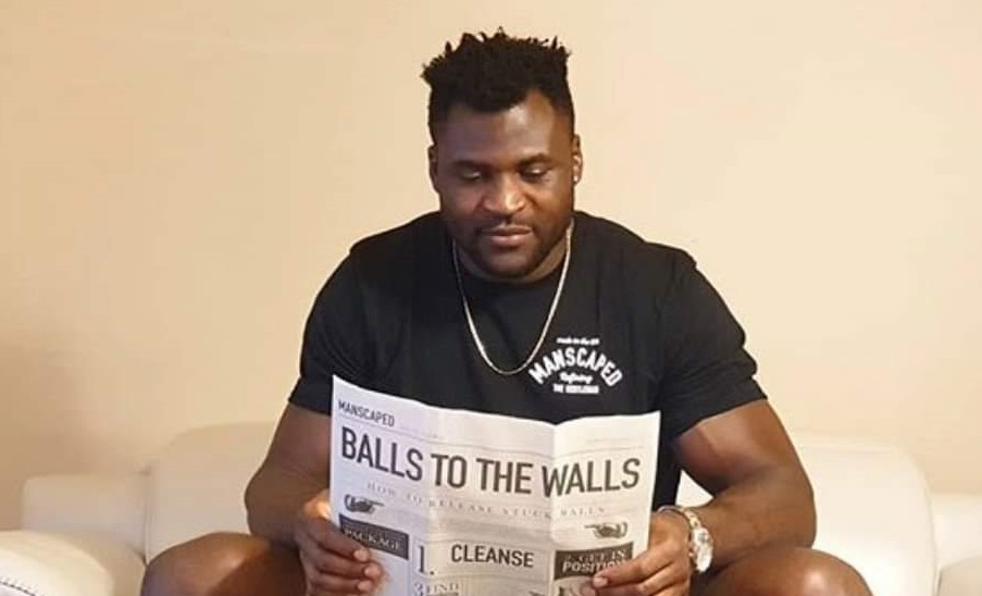 Manscaped, Francis Ngannou
