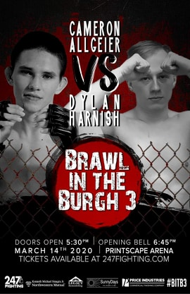 Brawl in the Burgh 3, 247 Fighting Championships