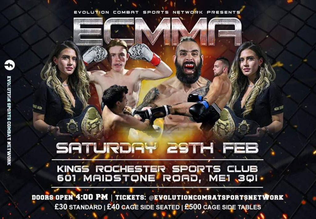 ECMMA 6 - Full Fight Card And Results