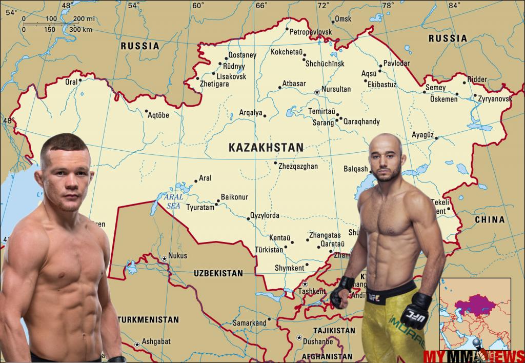 Kazakhstan, Moraes-Yan to headline UFC's Kazakhstan debut