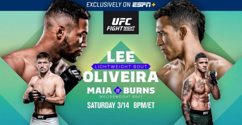 UFC Brasilia weigh-in results - UFC on ESPN+ 28
