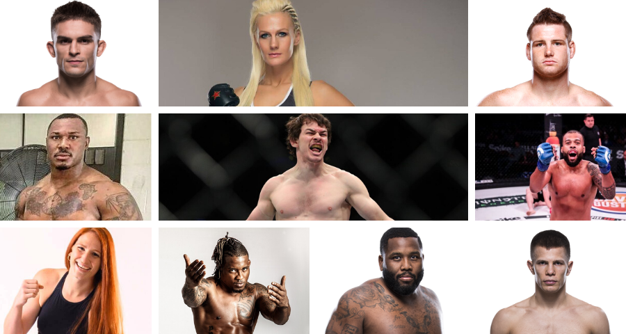 PFL Announces 10 New Fighters Signings
