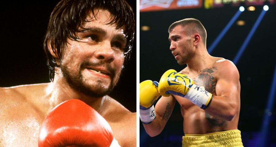 Roberto Duran vs Vasyl Lomachenko. fantasy boxing