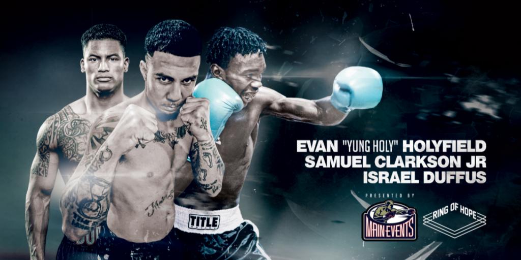 Night to Fight - Samuel Clarkson vs Israel Duffus - BOXING