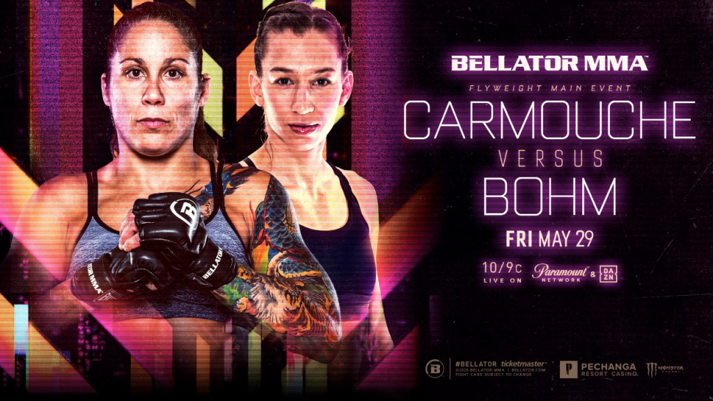 Liz Carmouche to Make Bellator MMA Debut on May 29 Against Undefeated Mandy Böhm