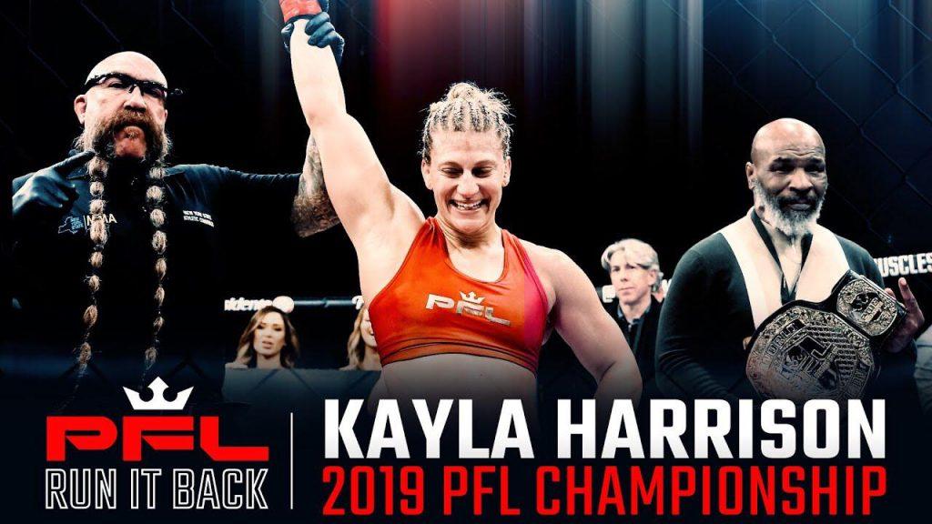 Run it back, Kayla Harrison, PFL