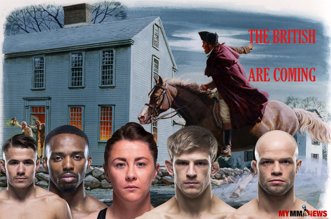 UFC British, Molly McCann, Arnold Allen, Mike Grundy, Lerone Murphy, Nathaniel Wood