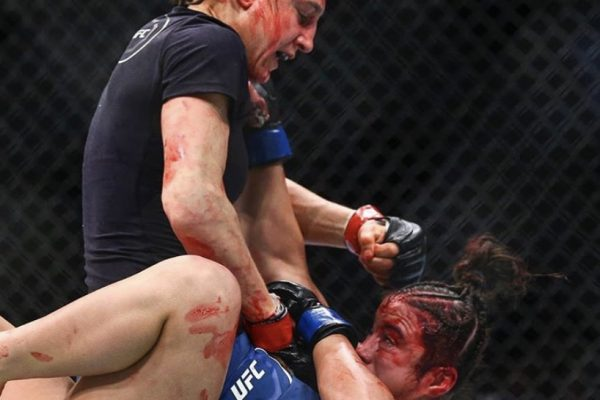 Roxanne Modafferi, UFC 246