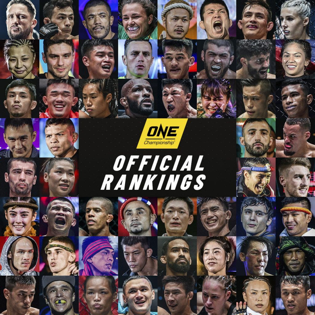 ONE Official Rankings