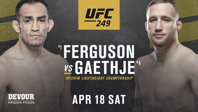 UFC 249, ufc 249 fight card