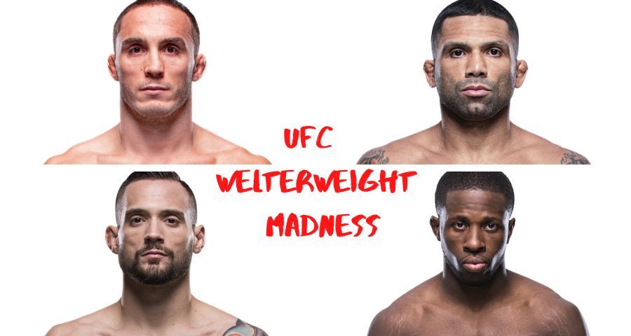 UFC Welterweight Madness, Anthony Rocco Martin, Claudio Silva, James Krause, Randy Brown