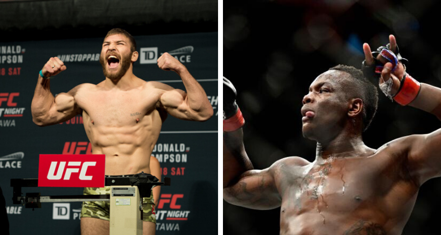 Ion Cutelaba and Ovince Saint Preux to fight at UFC on ESPN+ 31