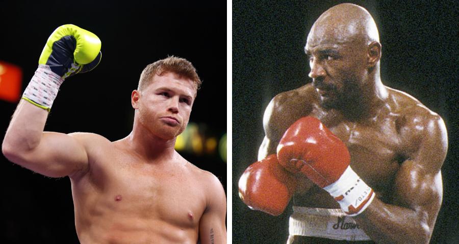 Marvin Hagler vs Canelo Alvarez