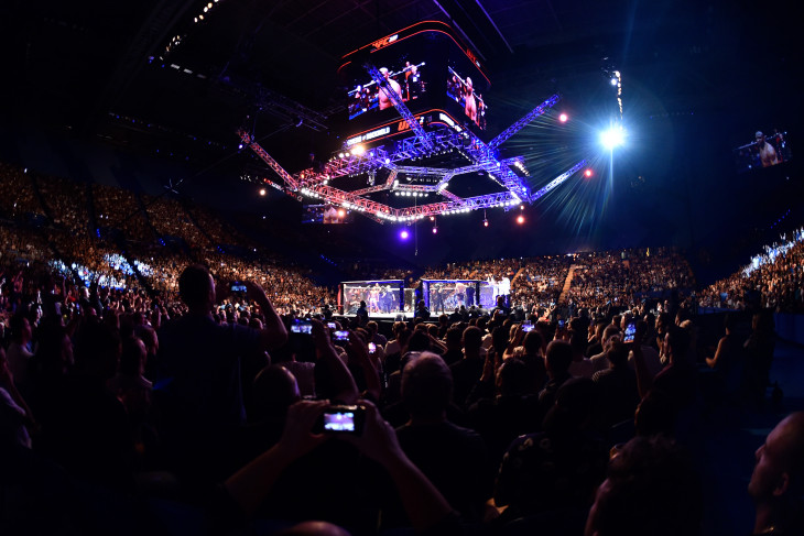 When will live mixed martial arts fights return to television?, UFC 249