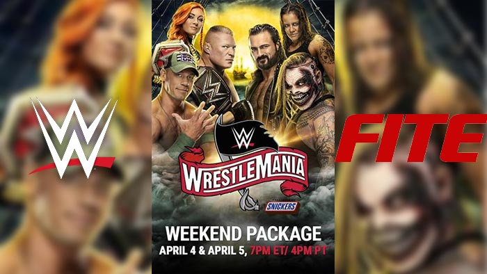 WrestleMania 36 - 2 nights of action - ORDER AND WATCH HERE