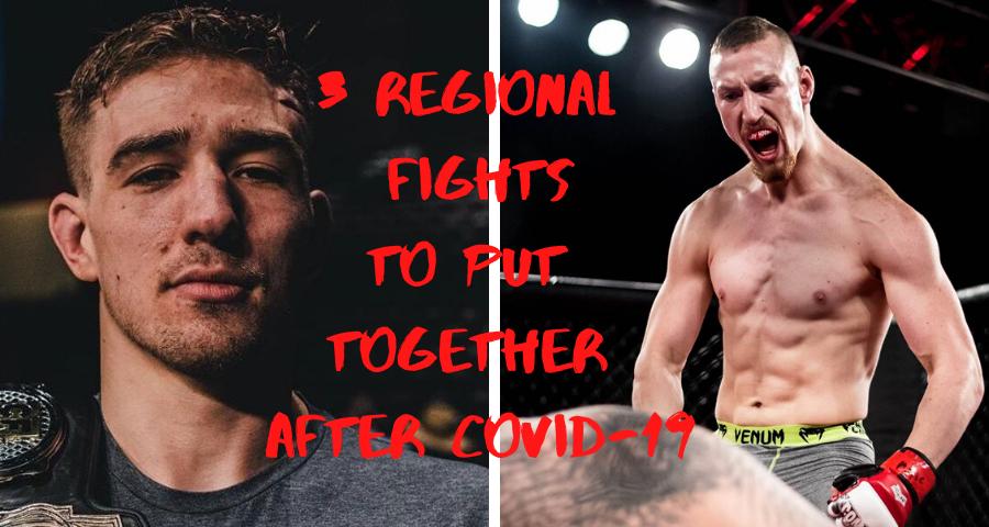 regional fights, fights, Kyle Daukaus, Joe Pyfer, Joseph Pyfer