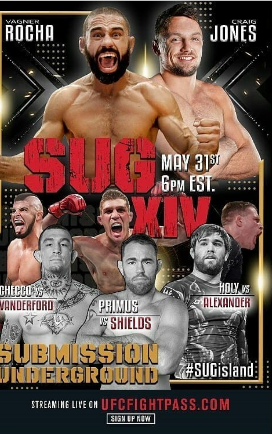 Submission Underground 14 Live Results