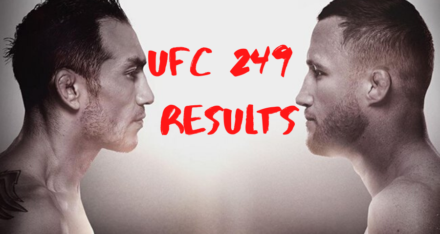 UFC 249 results - Ferguson vs. Gaethje, Cejudo vs. Cruz