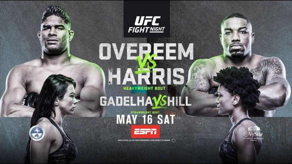 UFC on ESPN 8 results - Overeem vs. Harris